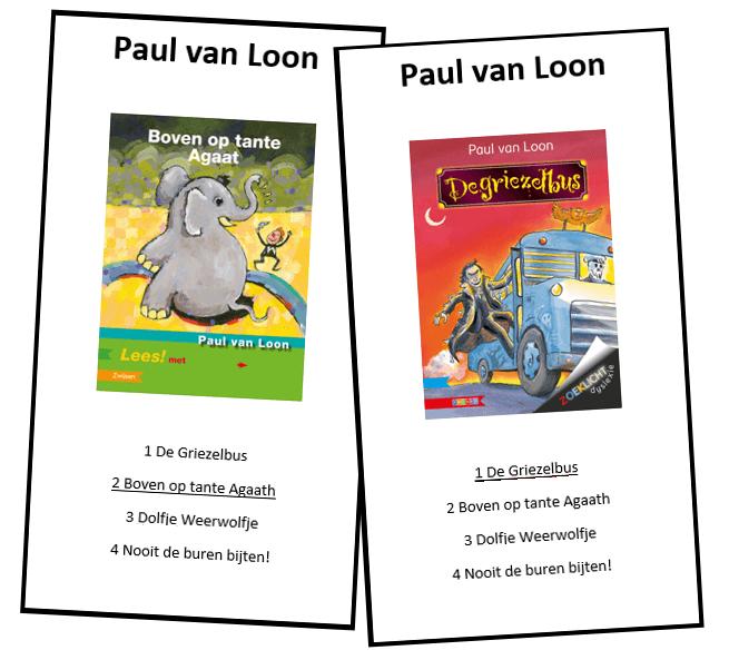 Kwartetspel kinderboeken