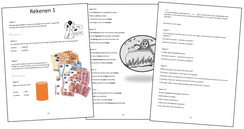 Cito-toets Groep 6 Oefenboek impressie 2