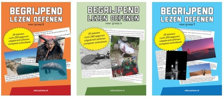 Begrijpend lezen oefenen groep 6, groep 7 en groep 8