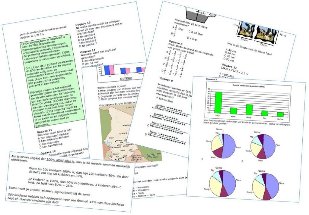 Impressie Cito-toets oefenen oefenboek