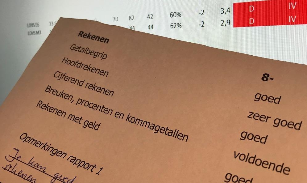 Goed rapport, maar slechte Cito-scores
