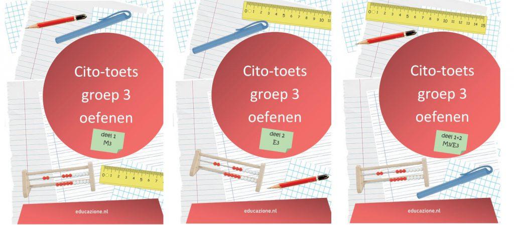 Cito-toets Groep 3 Oefenen oefenboeken